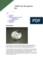 Arduino TCS230 Color Recognition Sensor Module