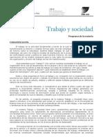 TyS Programa 1 2013