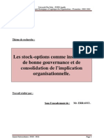 Th de La Firme__stock Option
