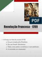 Revolução Francesa - 1789