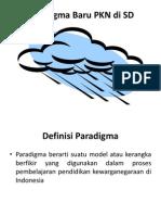 Paradigma Baru PKN Di SD