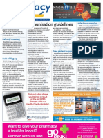 Pharmacy Daily for Wed 20 Mar 2013 - Immunisation guide, Free patient support, GoPharm and much more...