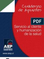 SERVICIO AL CLIENTE Y HUMANIZACIÓN DE LA SALUD ESA-208