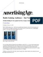 Advertising Age Radio is Growing