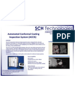 ACCIS Automated Conformal Coating Inspection System Single Page Brochure 100209