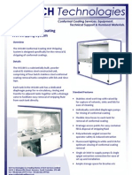 WS100 Conformal Coating Wet Stripping System Technical Brochure 160209