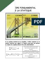 Principe Fondamental de la Statique - Cours première STI GC