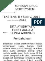 Sistem Penghantaran Obat Mukoadhesif