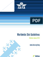 IATA Worldwide Slot Guidelines - 2013