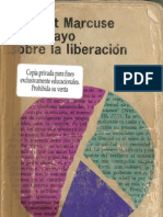 Herbert Marcuse - Un ensayo sobre la liberación