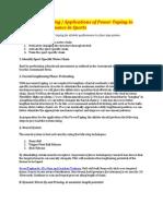 Application of Power Taping - RockTape at Manual