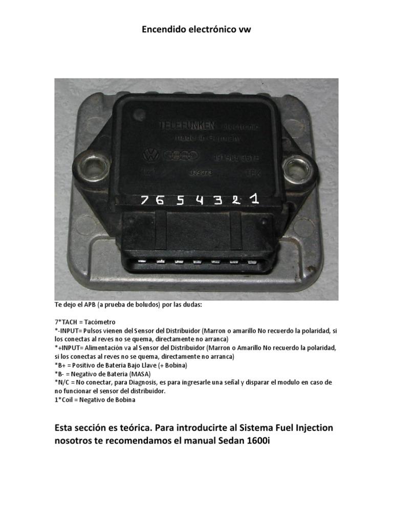 90241132 Encendido Electronico Vw