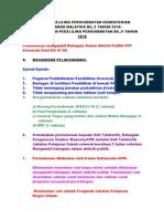 Surat Pekeliling Perkhidmatan Kementerian Pelajaran Malaysia Bil
