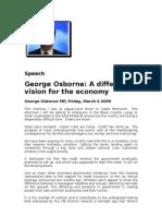 George Osborne's speech
