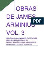 As OBRAS de James Arminius VOL 3