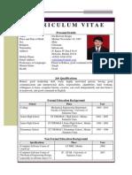 Resume(Compress)