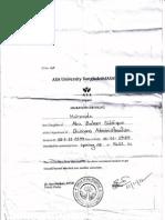 Migration Certificate Format of ASA
