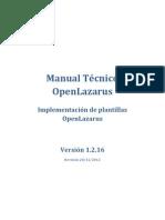 Manual Tecnico Lazarus 1.2