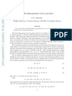Multi-Dimensional Vector Product