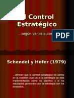 El Control Estratégico