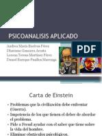 PSICOANALISIS APLICADO