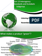 Green Products Standards Ecolabels ANSI 11-11