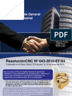 Exposicion Grupo Verde - Plan Contable General