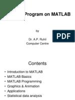 Training Program on MATLAB