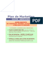 Plan de Marketing Word
