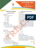 Solucionario San Marcos 2013-II (Ciencias)