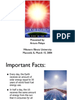 Renewable Energy -Solar