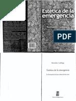 Laddaga Reinaldo - Estetica de La Emergencia