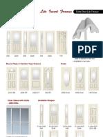 Entry Door Lite Frames