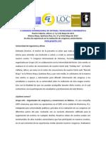 V Congreso Internacional de Sistemas, Tecnologias e Informatica