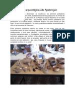 Zonas arqueológicas de Apatzingán