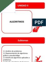 UNIDAD II, DISEÑO DE ALGORITMOS