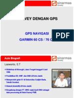 Survey Dengan GPS