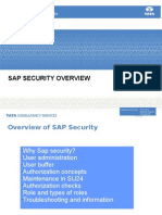 Sap Security Overview 1new