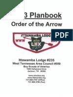 2013 Planbook - Ittawamba