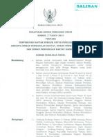 Peraturan KPU Nomor 09 Tahun 2013