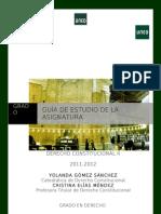 Guia de Estudio. Derecho Constitucional II