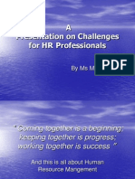 Challenges for Hr Professionals (1)