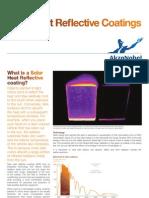 solar heat reflective coatings