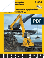 Technical Description Hydraulic Excavator a 934 ` Litronic NE