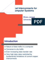 Optical Interconnects for Computer Systems