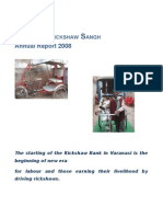 Annual report of Jan Mitra Rickshaw Sangh