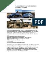 Confortul Si Siguranta Automobilului Mercedes Clasa S