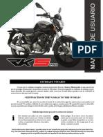 Manual de Usuario RK S 200 CC 'MX' (Idioma Castellano)