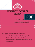 Intrinsic Element of Drama
