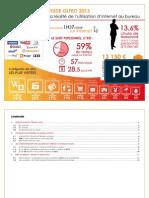 Etude Olfeo Réalité de l'utilisation d'Internet - 2013